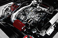 Spectre Performance® - Low Profile Dual Inlets Plenum Style Air Intake Kit