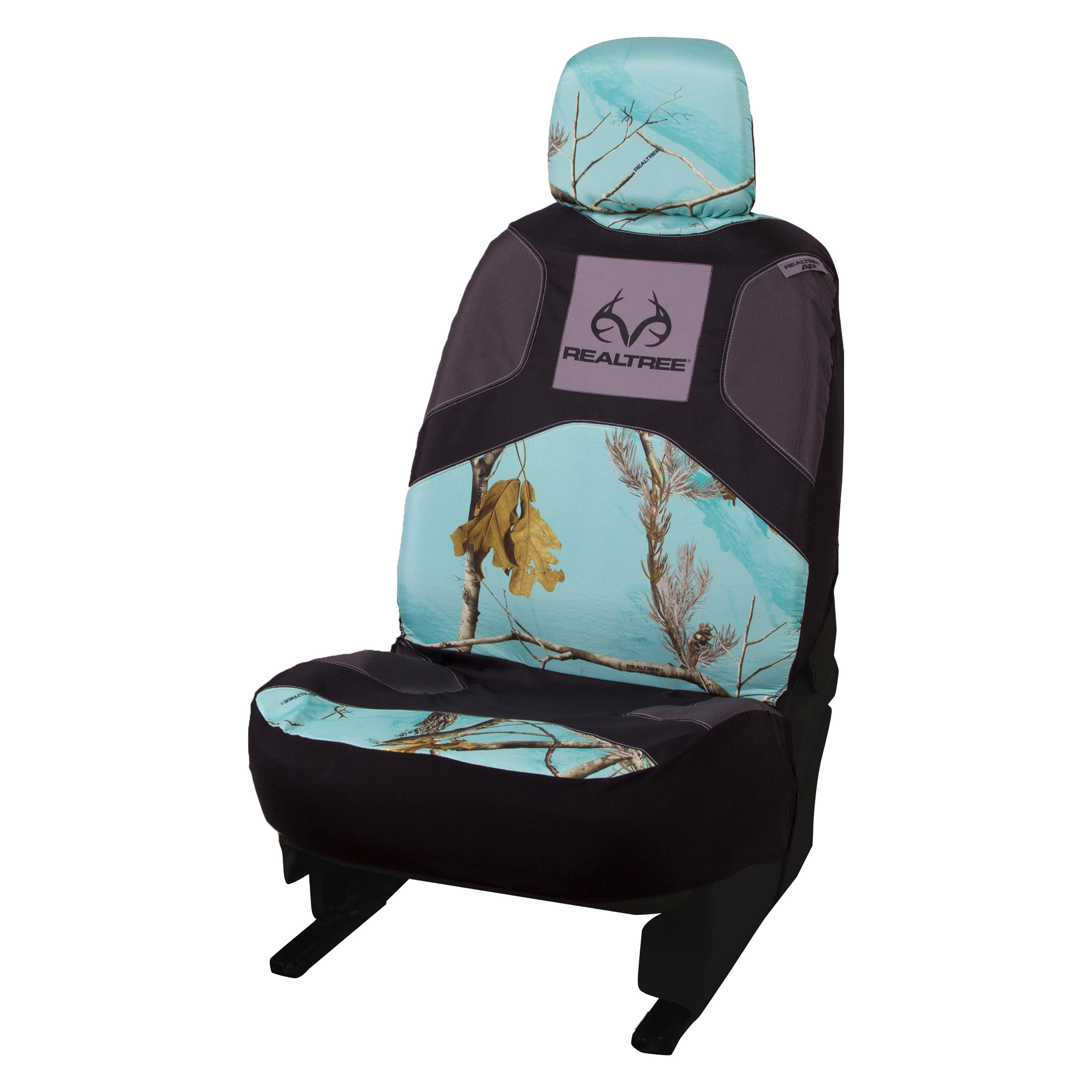 Teal Camo Car Seat Covers Velcromag