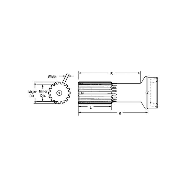 Spicer 3-40-1471 Tube Shaft