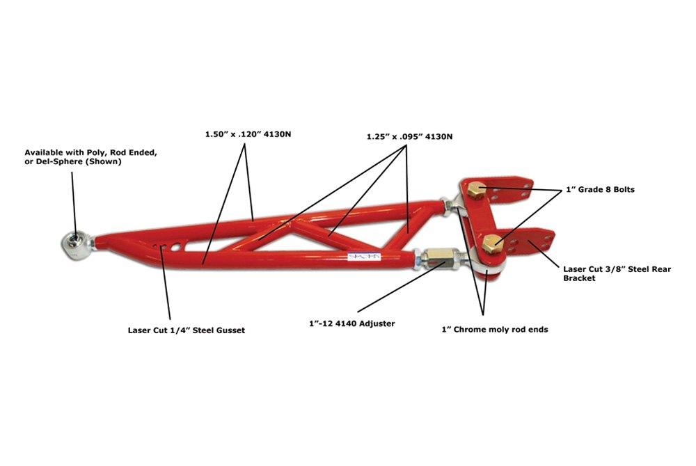 Spohn Performance® 402-PSB-12 Bolt - Pro-Series Adjustable Torque Arm