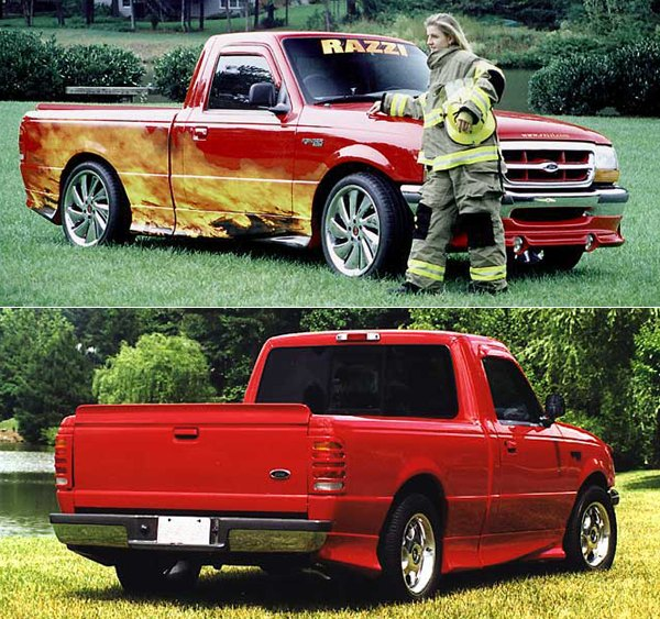 Ford Spoilers And Wings
