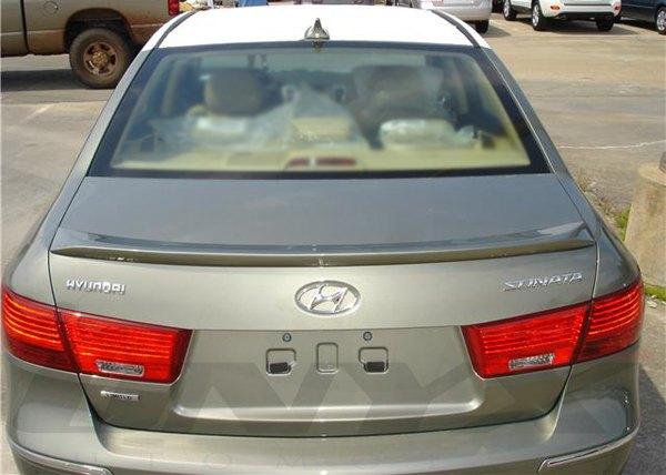 Hyundai Sonata Custom Style - Lip-Mount Rear Spoiler