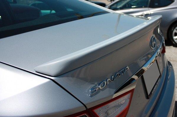 Hyundai Sonata OEM Factory Style - Lip-Mount Rear Spoiler