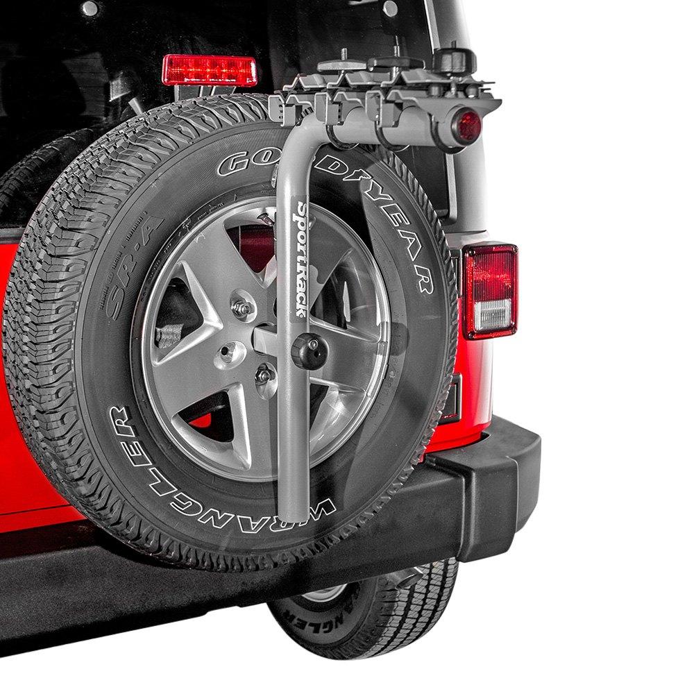 Sportrack Sr2813 Pathway Deluxe Spare Tire Mount Bike