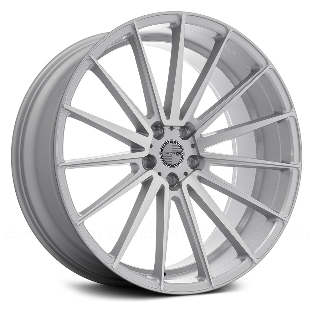 Sporza pentagon silver with machined face