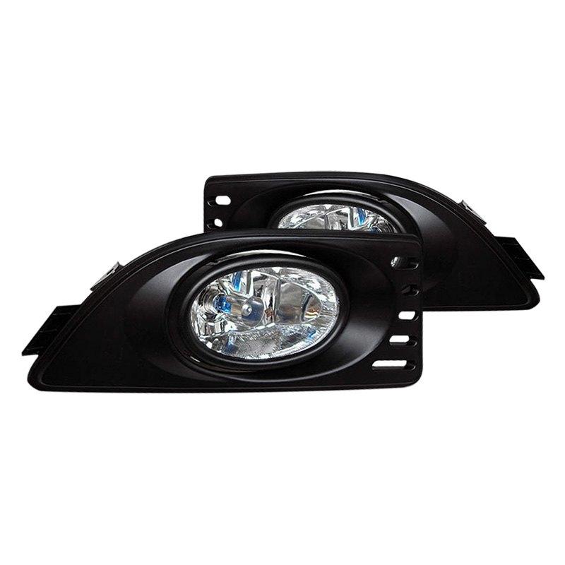 spyder fl ar06 c 5020666 clear oem style fog lights. Black Bedroom Furniture Sets. Home Design Ideas