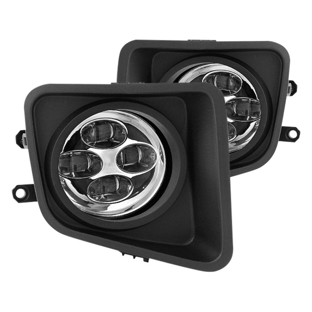 drl ttu14 c 9031540 toyota tundra 2015 clear fog lights with leds. Black Bedroom Furniture Sets. Home Design Ideas