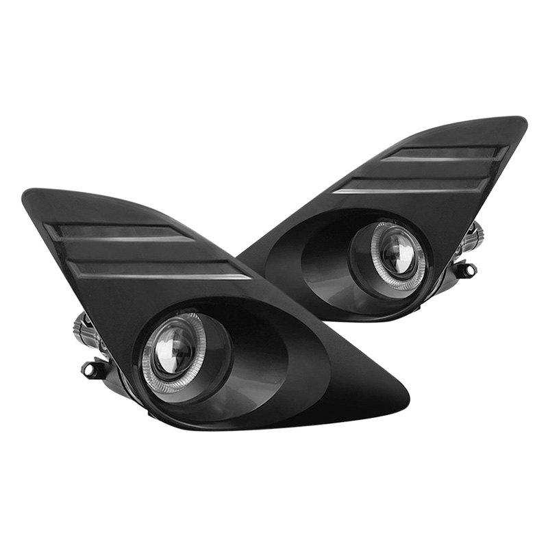 ... Clear Halo Projector Fog LightsSpyder® ...  sc 1 st  CARiD.com & Spyder® - Halo Projector Fog Lights azcodes.com