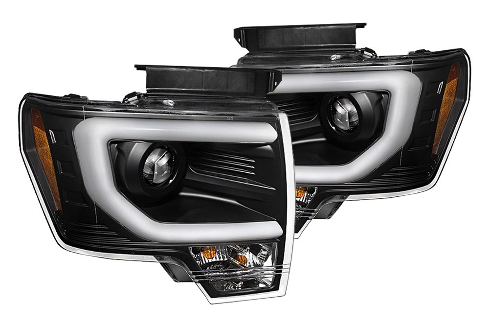 The best looking headlights with built-in LED bars for your