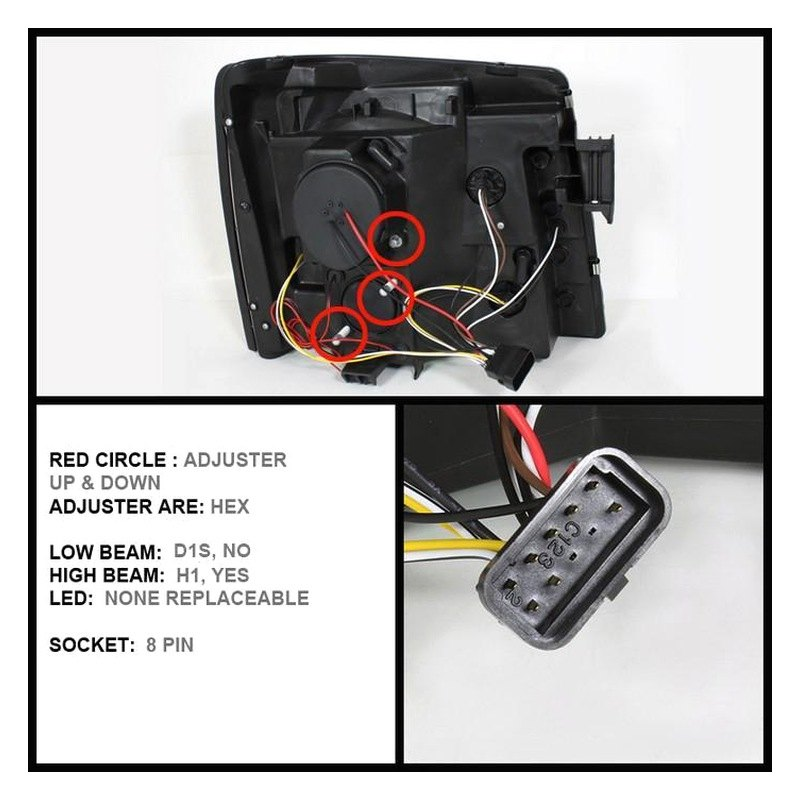 Sonar Headlights Wiring Diagram : Wiring diagram for halo headlights with leds lighting