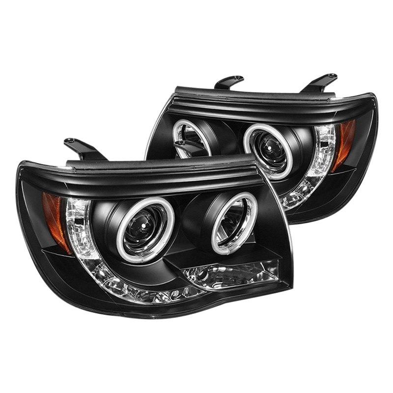 Toyota Tacoma Headlights: Toyota Tacoma 2005-2011 Black Halo Projector