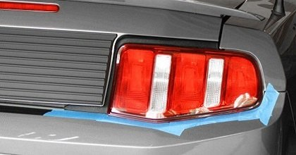 Spyder tail lights guide apply painters tape around the edges of your tail lights to protect them from scratches that might occur during the installation aloadofball Choice Image