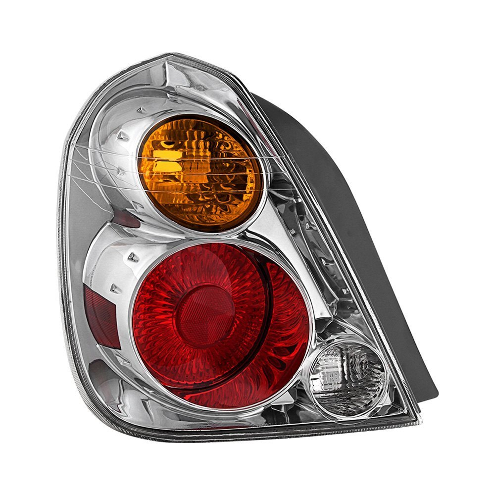 Na Miata Garage Vary Tail Lights: Nissan Altima 2002 Chrome Factory Style Tail Light