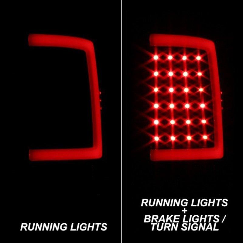 Spyder® ALT-ON-DRAM13V2-LBLED-BSM - Black/Smoke LED Tail Lights