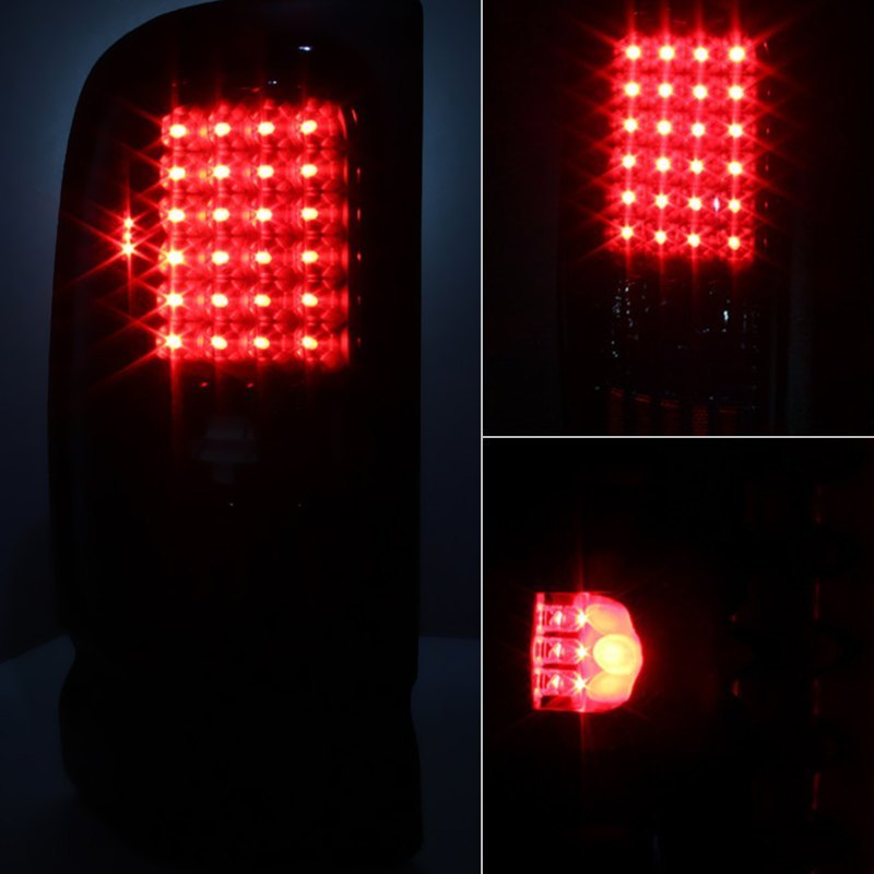 Spyder® ALT-ON-DRAM94-LED-BSM - Black Red/Smoke LED Tail Lights
