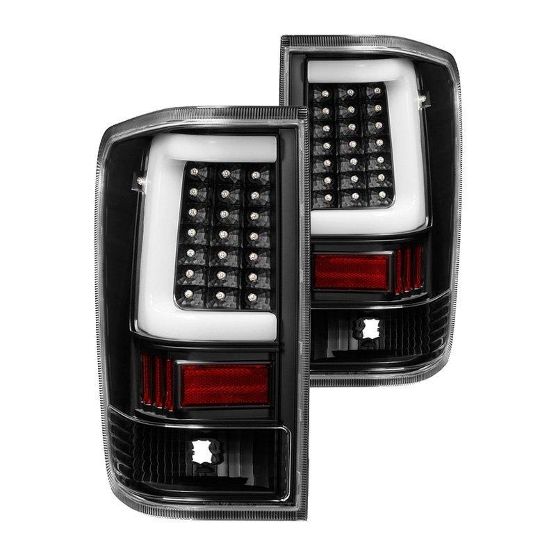 spyder alt on nti04 lbled bk black fiber optic led tail lights. Black Bedroom Furniture Sets. Home Design Ideas