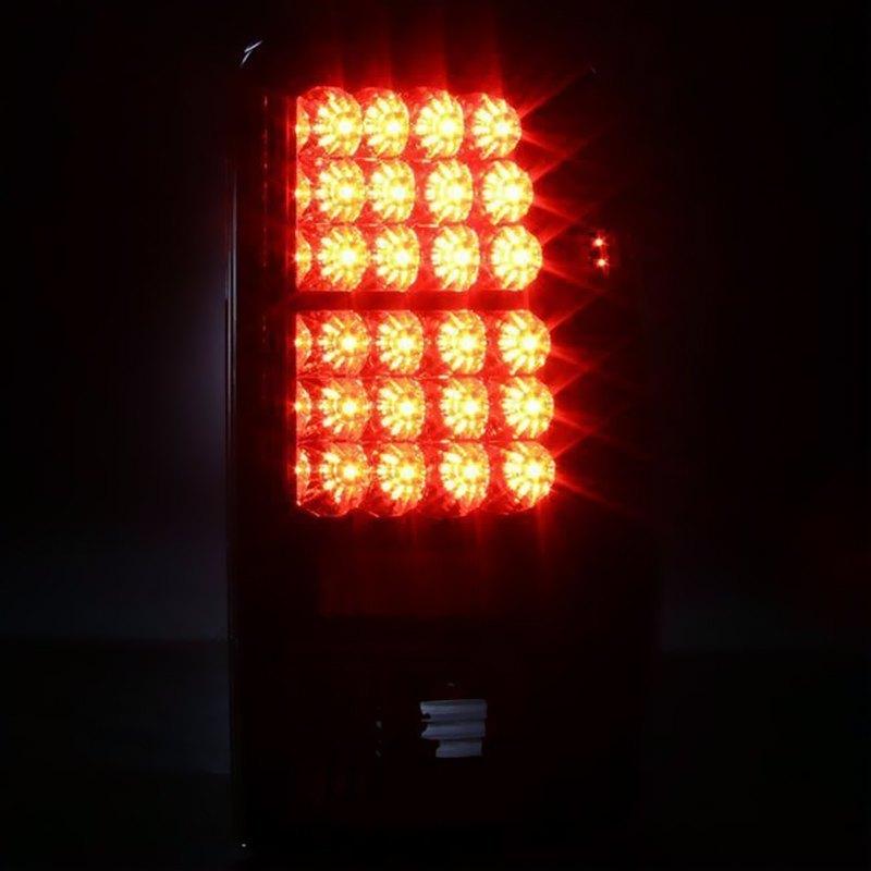 Spyder Alt Yd Cd00 Led Bk Black Tail Lights