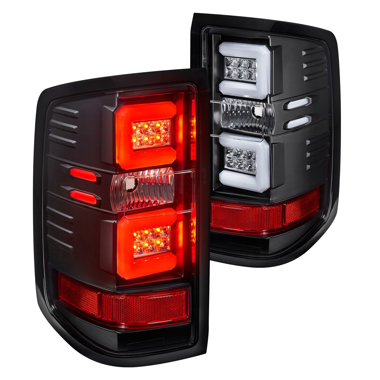 Spyder ALT YD CS16 LED BSM Black Smoke Fiber Optic LED Tail Lights