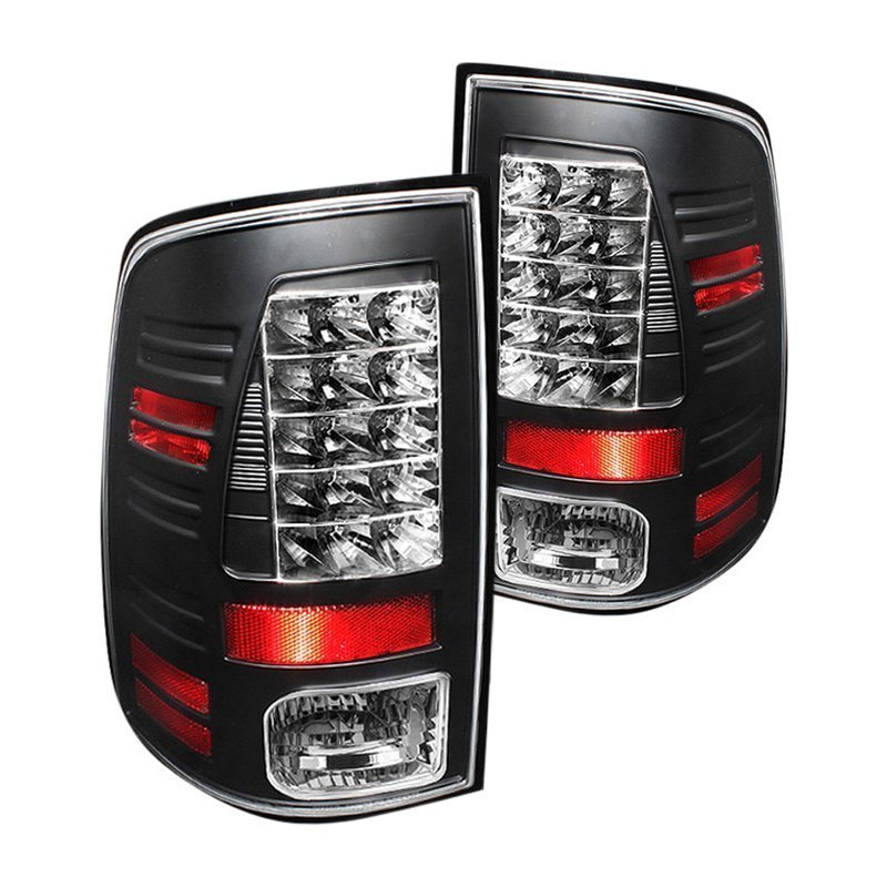 spyder alt yd dram09 led bk black led tail lights rh carid com Dodge Ram Tail Light Wiring Diagram for 2013 2003 Dodge 3500 Wiring Diagram