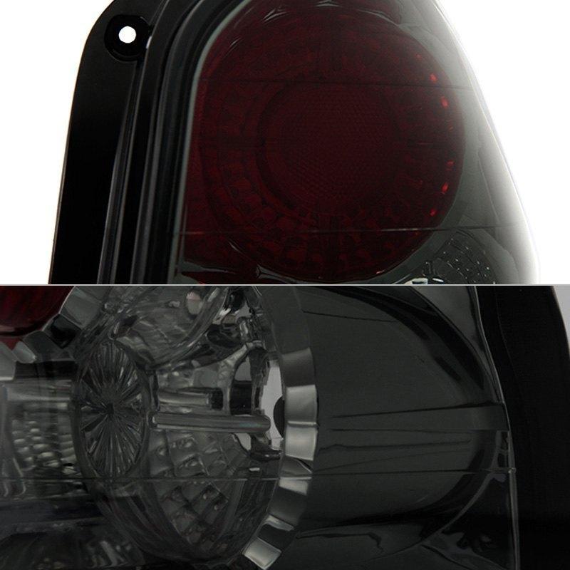 2003 Hyundai Santa Fe Interior: Hyundai Santa Fe 2003 Chrome Red/Smoke Euro Tail