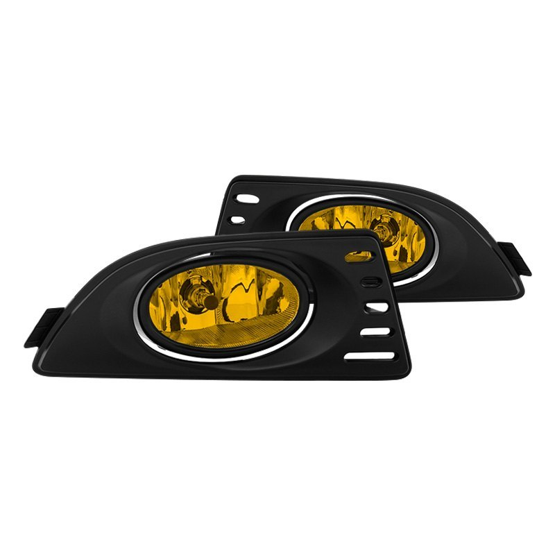 Acura RSX 2005-2006 Yellow Factory Style Fog Lights