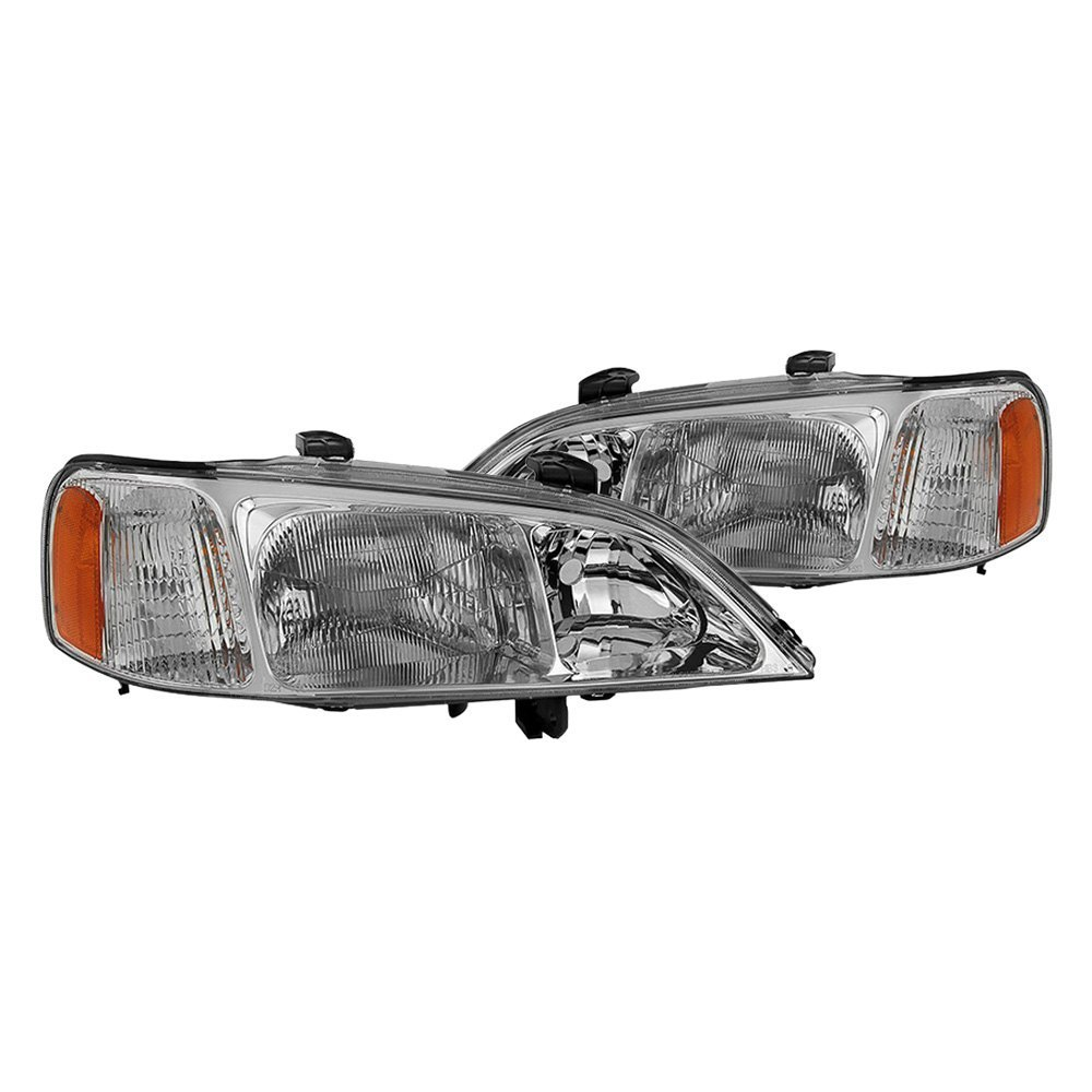 Acura TL 2000 Chrome Factory Style Headlights