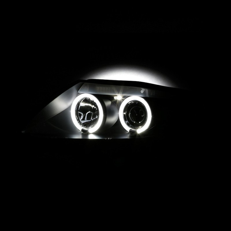 Spyder Pro Yd Bmwz403 Hl Bk Black Led Halo Projector Headlights