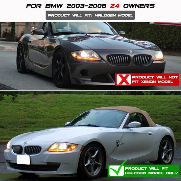 2005 Bmw Z4: BMW Z4 With Factory Halogen Headlights 2005