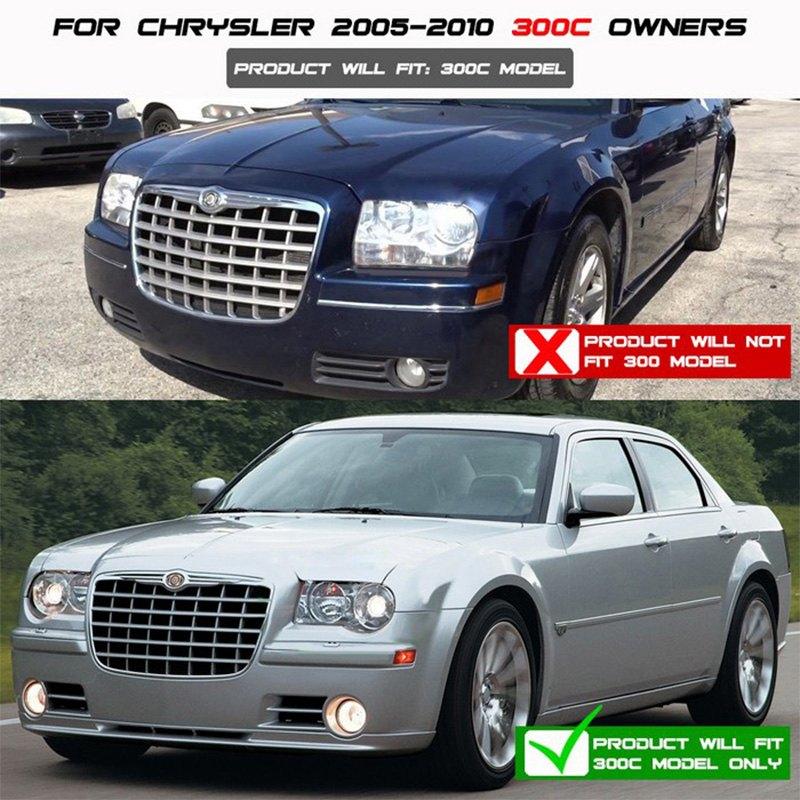 Chrysler 300C With Factory Halogen Headlights