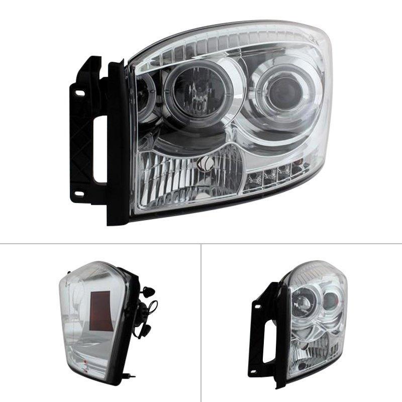 Spyder Auto 444-DR06-HL-SM Projector Headlight