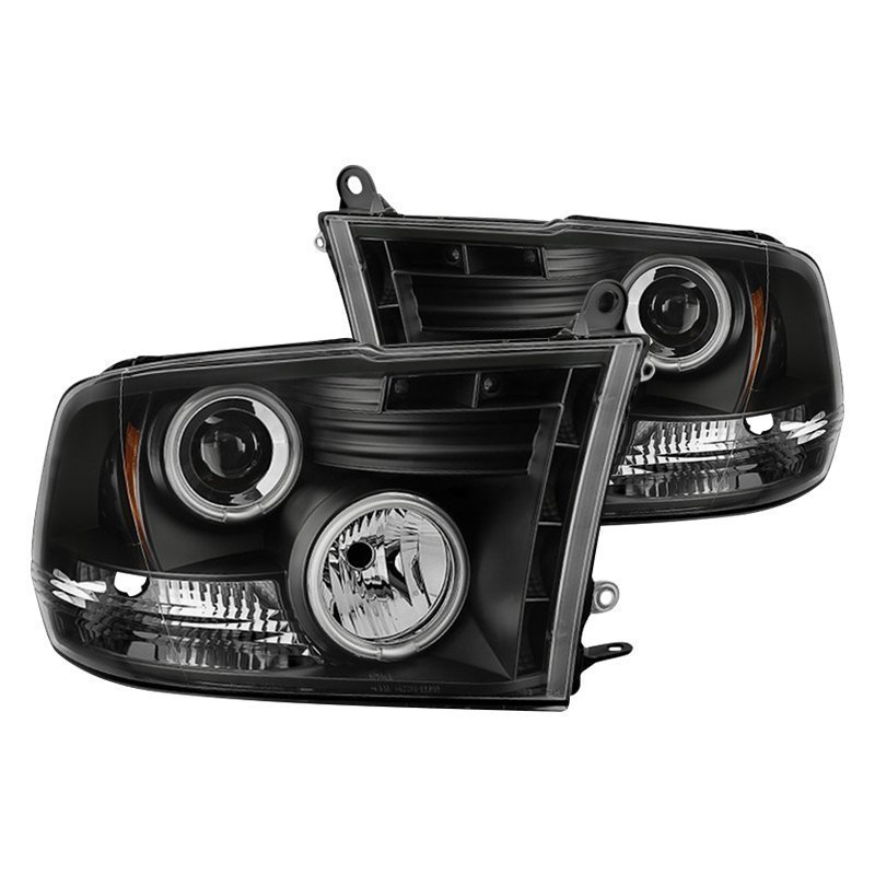 Spyder Pro Yd Dr09 Ccfl Bk Black Ccfl Halo Projector Headlights