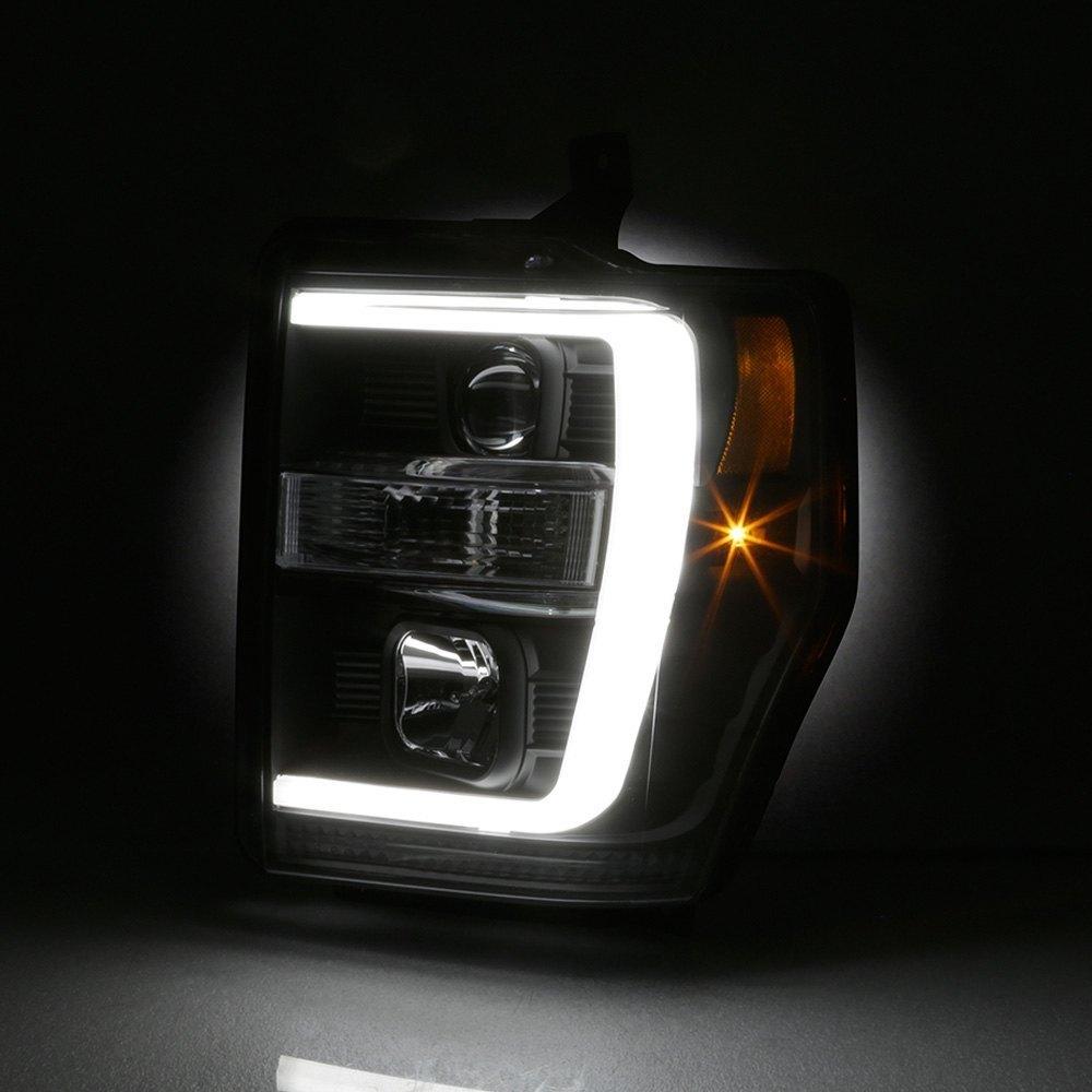 Spyder Pro Yd Fs08v2 Lb Bk Black Led Drl Bar Projector Headlights Motorcycle For Sale Used On Headlight Wiring Other Viewspyder Close Upspyder