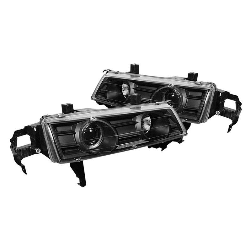 Spyder Pro Yd Hp92 Bk Black Led Halo Projector Headlights