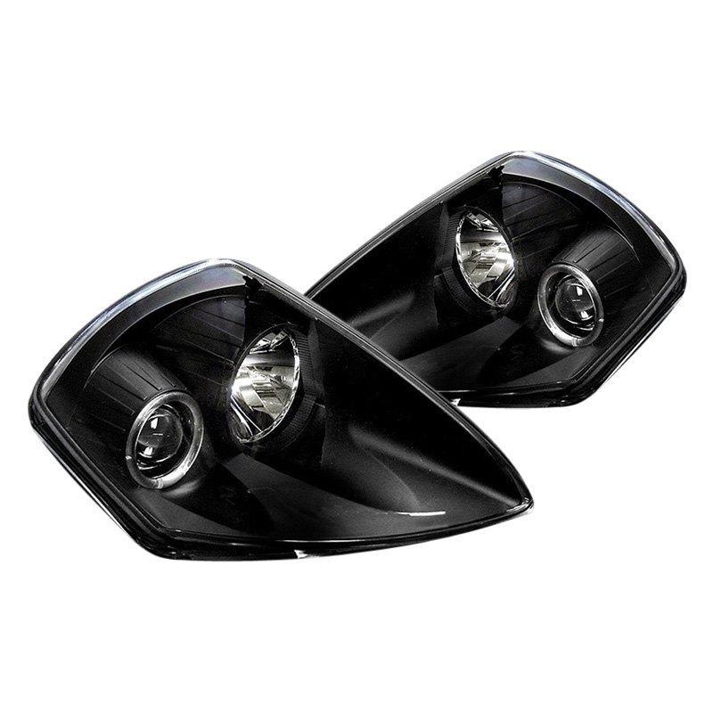 Spyder Mitsubishi Eclipse 2000 Black Led Halo Projector Headlights