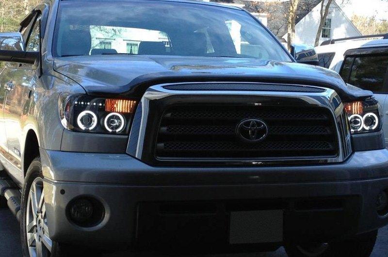 Spyder Auto Toyota Tundra Black CCFL Projector Headlight