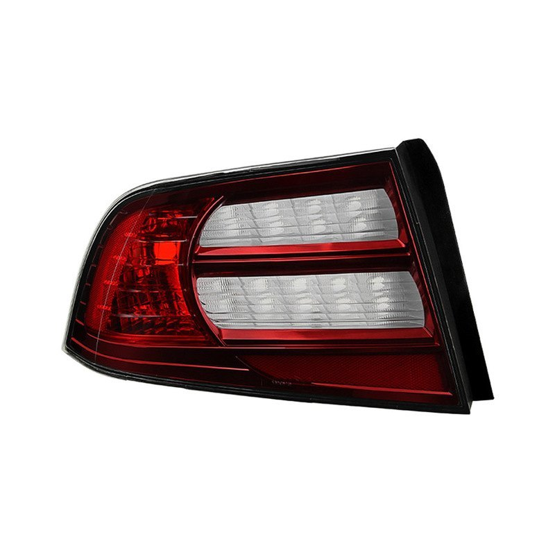 Acura TL 2004 Chrome/Red Factory Style Tail Light