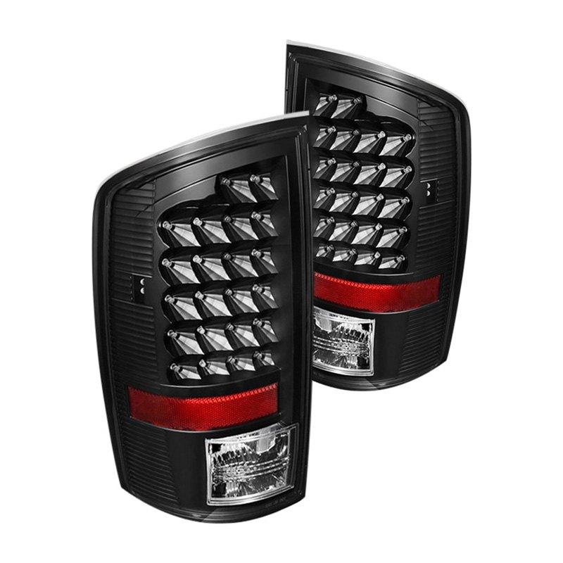 spyder alt jh dr07 led bk black led tail lights. Black Bedroom Furniture Sets. Home Design Ideas