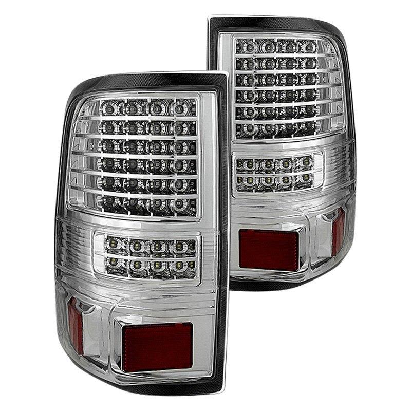 jh ff15004 led g2 c ford f 150 styleside 2005 chrome led tail lights. Black Bedroom Furniture Sets. Home Design Ideas