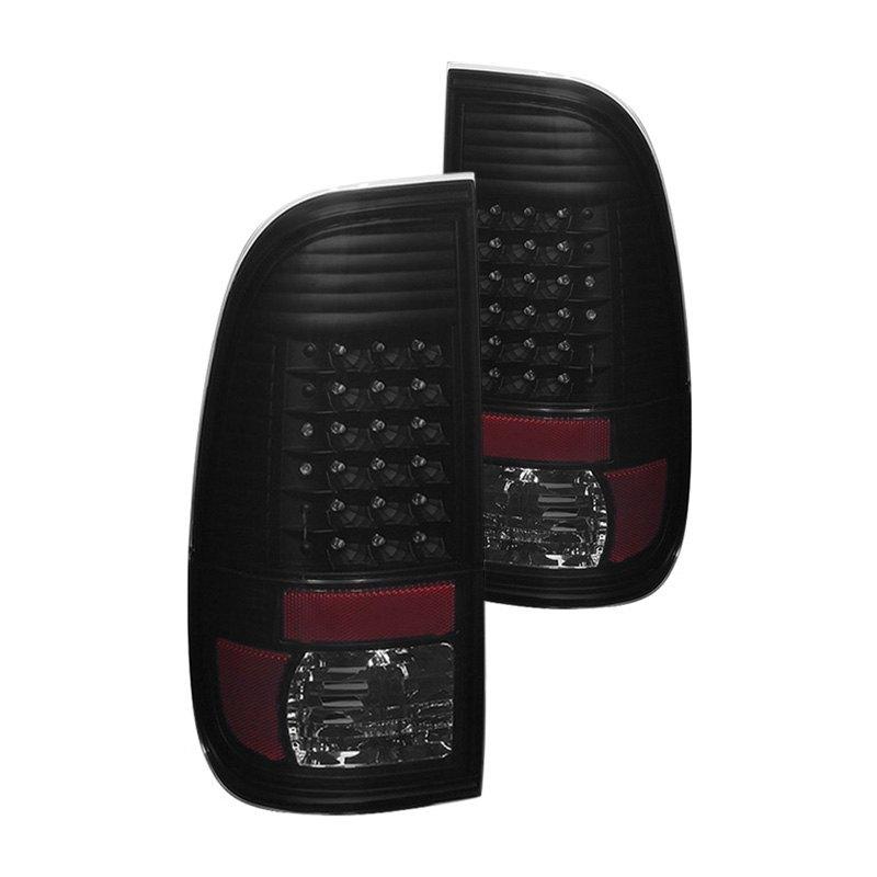 smoke led tail lights spyder black smoke led tail lights spyder. Black Bedroom Furniture Sets. Home Design Ideas