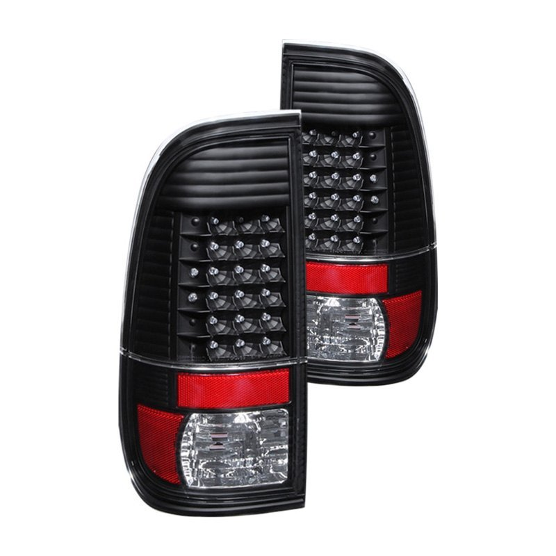 Spyder Alt Jh Fs08 Led Bk Black Led Tail Lights