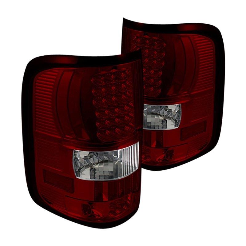 ff15004 led rc ford f 150 styleside 2006 chrome red led tail lights. Black Bedroom Furniture Sets. Home Design Ideas