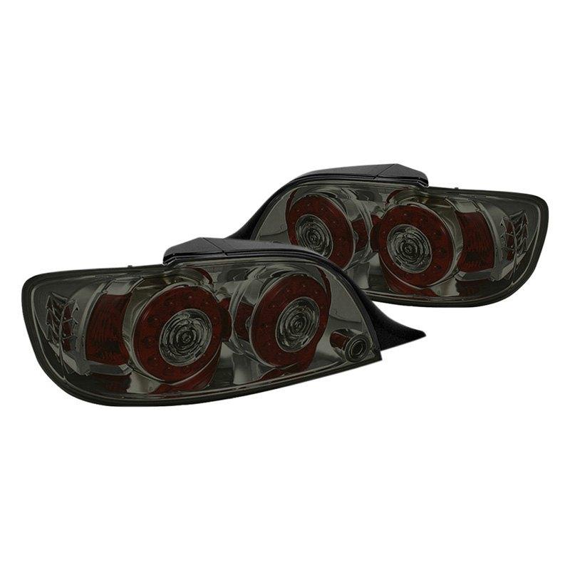 smoke led tail lights spyder chrome smoke led tail lights spyder. Black Bedroom Furniture Sets. Home Design Ideas