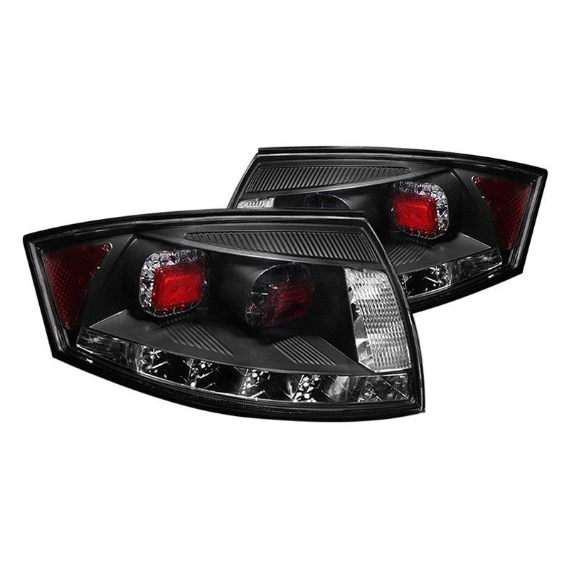 spyder alt yd att99 led bk audi tt 2005 black red led tail lights. Black Bedroom Furniture Sets. Home Design Ideas