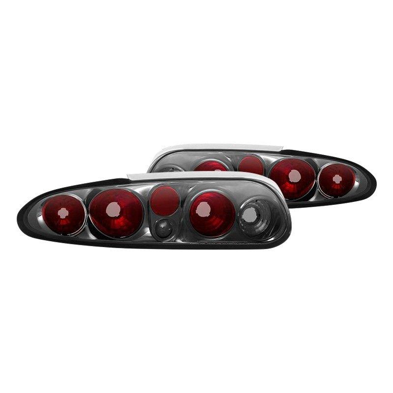 Spyder® - Chrome Red/Smoke Euro Tail Lights  sc 1 st  CARiD.com & Spyder® ALT-YD-CCAM98-SM - Chrome Red/Smoke Euro Tail Lights