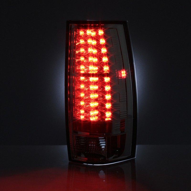 spyder alt yd csub07 led c chrome led tail lights. Black Bedroom Furniture Sets. Home Design Ideas