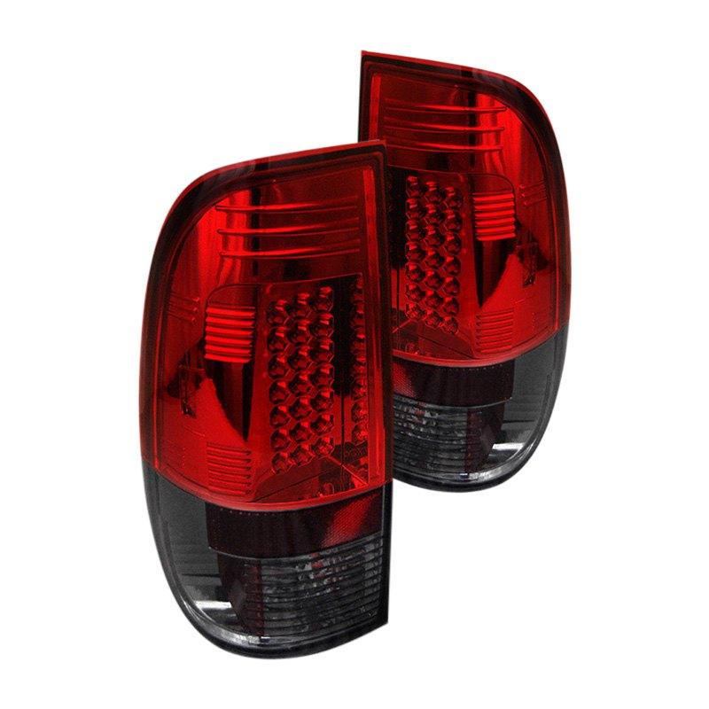 spyder alt yd ff15097 led rs chrome red smoke led tail lights. Black Bedroom Furniture Sets. Home Design Ideas