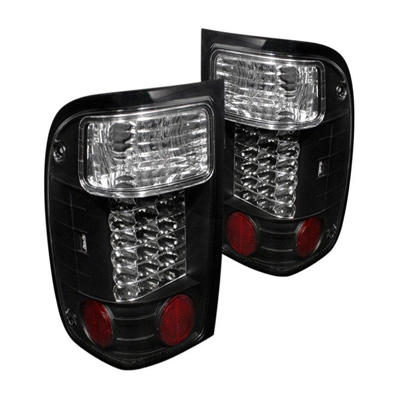 spyder alt yd fr93 led bk ford ranger 1996 black led tail lights. Black Bedroom Furniture Sets. Home Design Ideas
