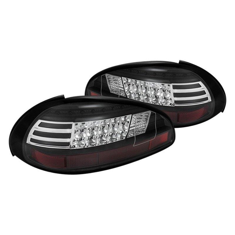 spyder alt yd pgp97 led bk pontiac grand prix 2001 black red led tail lights. Black Bedroom Furniture Sets. Home Design Ideas