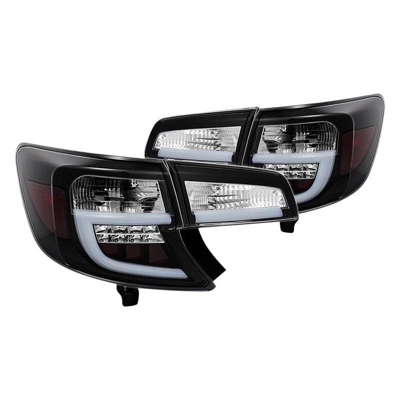 Spyder Alt Yd Tc12 Lbled Bk Toyota Camry 2014 Black Fiber Optic Led Tail Lights