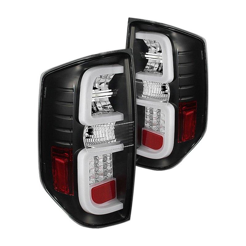 spyder alt yd ttu14 led bk black fiber optic led tail lights. Black Bedroom Furniture Sets. Home Design Ideas